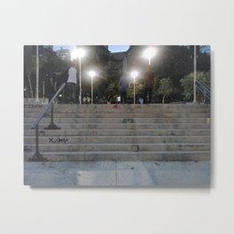 skaters Metal Print