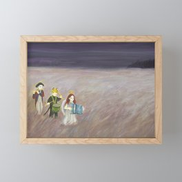 To the West Framed Mini Art Print