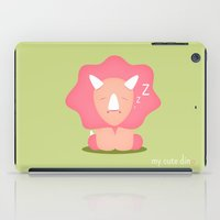 dino iPad Cases featuring Dino by Jane Mathieu