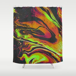 NOTHING BUT A FOOL Shower Curtain