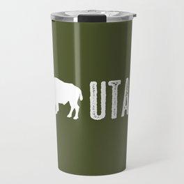 Bison: Utah Travel Mug