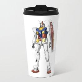 White Mobile Suit Travel Mug