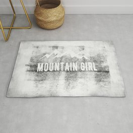 Mountain Girl Rug