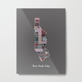 Type 3 NYC Print Metal Print