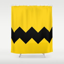 Be Charlie Brown Shower Curtain