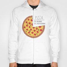 Pizza Pie Chart Hoody