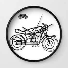 Ride On! Wall Clock
