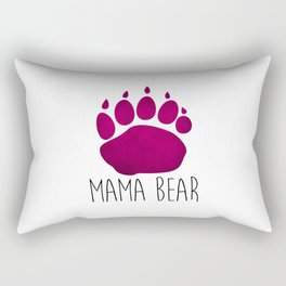 Mama Bear Rectangular Pillow