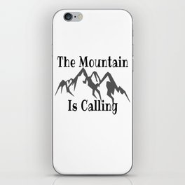 Climbing Quote iPhone Skin