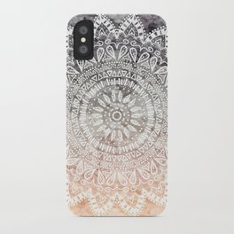 BOHEMIAN HYGGE MANDALA iPhone Case