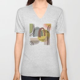 Bridges, Bright Unisex V-Neck