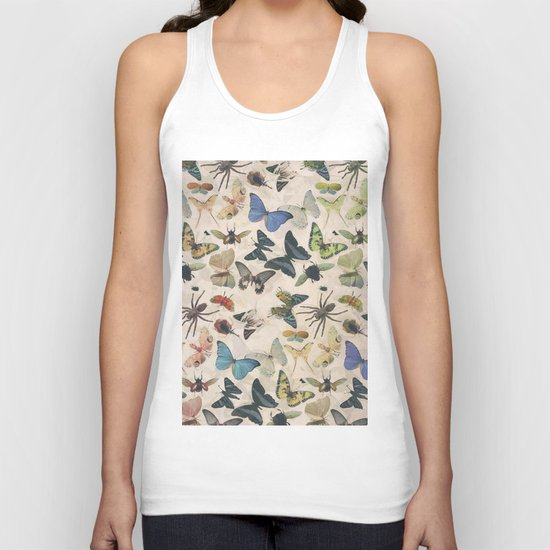 Insect Jungle Unisex Tank Top