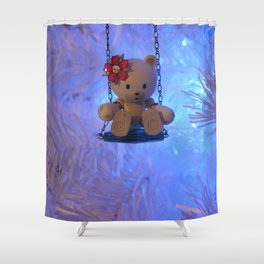 Beargguy Christmas. Shower Curtain