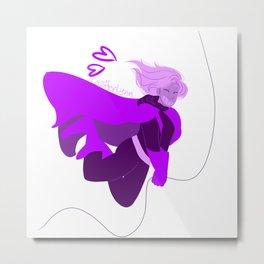 Purple Steph Metal Print