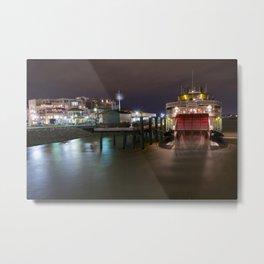 Natchez Steamboat Metal Print