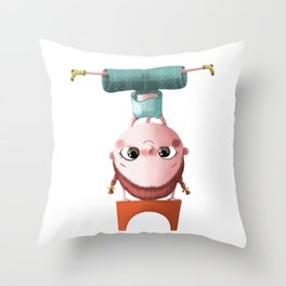 T de Tina Throw Pillow