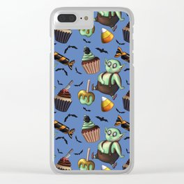 Trick-or-Treat Clear iPhone Case