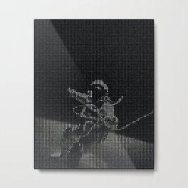 Amongst Metal Print
