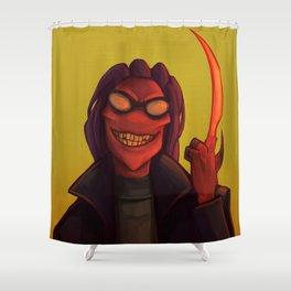 Thrax Shower Curtain