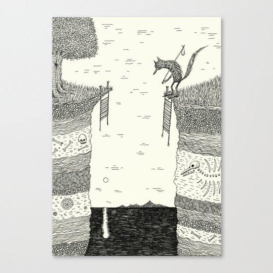 'Broken Bridge' Canvas Print