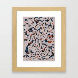 Pattern № 49 Framed Art Print