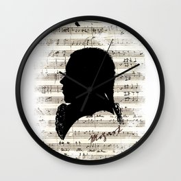 Mozart - Dies Irae Wall Clock