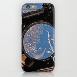 ISS Cupola module - South Africa iPhone Case