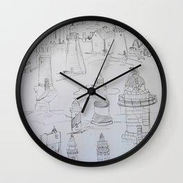 Lighthouses Wall Clock