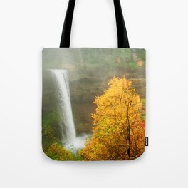 Waterfall into Fall Tote Bag