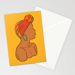 Melanin 1 Stationery Cards