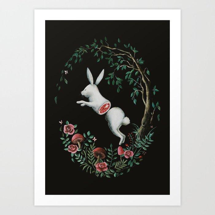 Jump Apart Art Print