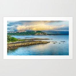 Sneem shoreline, County Kerry, Ireland Art Print