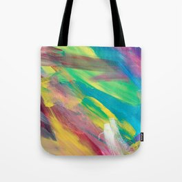 Abstract Artwork Colourful #2 Tote Bag