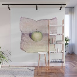 Emulsion Lift 6- An Apple A Day Wall Mural
