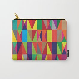 Geometric No. 10 Carry-All Pouch