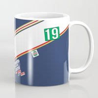 honda Mugs featuring Freddie Spencer 1985 Rothmans Honda by Krakenspirit