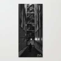 uncharted Canvas Prints featuring Uncharted II by ZML Zealous Modern Living