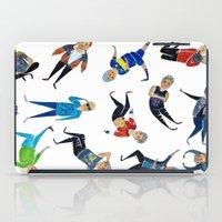 zayn iPad Cases featuring Zayn Pattern by jerrh