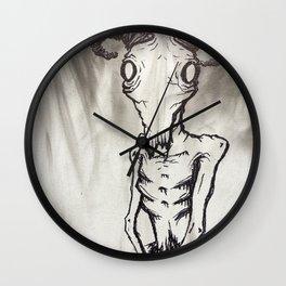 Patient Goat Wall Clock