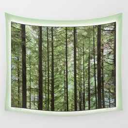 YOUNG FOREST Wall Tapestry