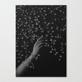 Noir touch Canvas Print