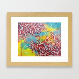 Passion Spares Nothing Framed Art Print