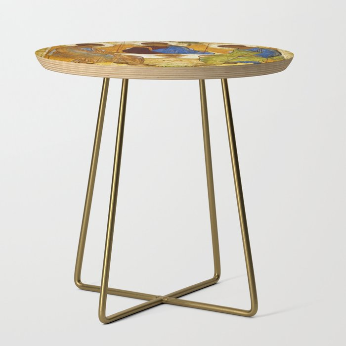 Andrey_Rublev___The_Trinity__Side_Table_by_DOHSHIN__Gold__Round
