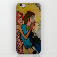 cigarette iPhone & iPod Skins featuring cigarette by Samantha Sager