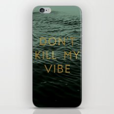 Vibe Killer iPhone & iPod Skin