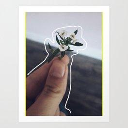 Lil' Bouquet Art Print