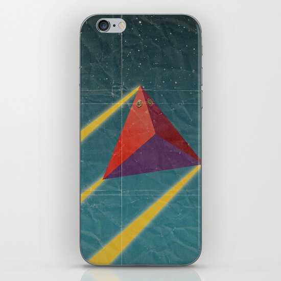 tetrahedra of space iPhone & iPod Skin