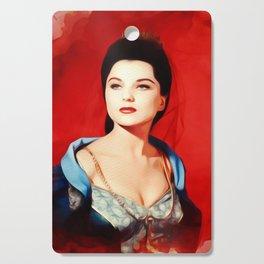 Debra Paget, Vintage Actress Cutting Board