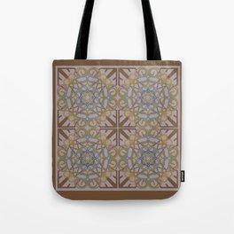 Gender Equality Tiled - Brown Olive Tote Bag