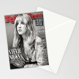 Stevie Nicks on the cover of April's Rolling Stone Australia Tell All Interview Stationery Cards